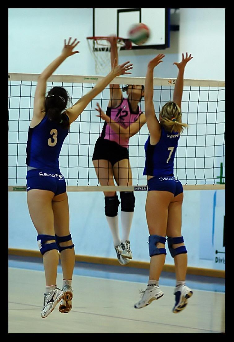 Volleyball shorts vs yoga pants